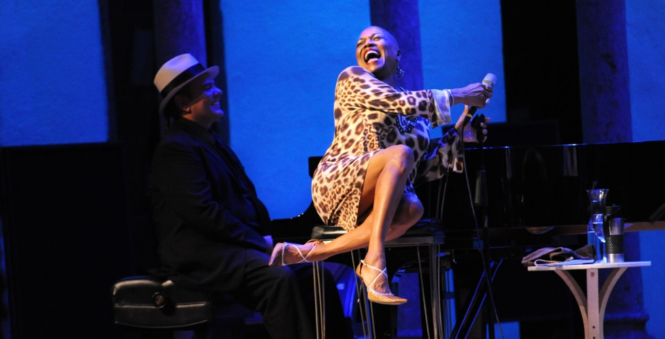 Dee Dee Bridgewater and Edsel Gomez at Caramoor